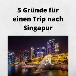 5 Gründe für einen Trip nach Singapur